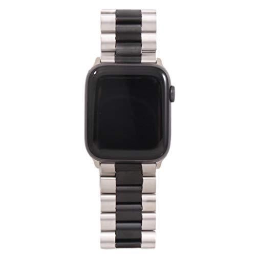 Banda para Apple Watch 6 5 4 3 2 44 mm 40 mm 42 mm 38 mm Correa de pulsera de acero inoxidable de metal Correa para accesorios de la serie IWatch-11YJH, 38MM-40MM