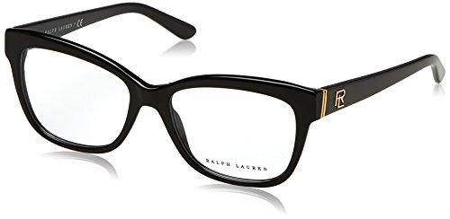 Ralph Lauren Brille für Vista RL6164 5001 schwarz rahmenmaterial: kunststoff größe 53 mm brille für damen