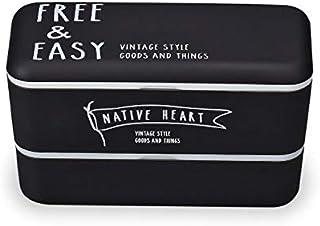 正和 FREE&EASY 長角ネストランチ ブラック 7.7×16.5×9.5cm 日本製