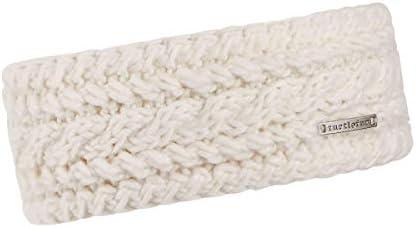 Turtle Fur Women s Abbey Fleece Lined Narrow Knit Headband Cream product image