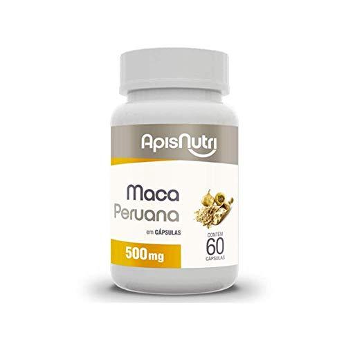 Maca Peruana 500 mg (60 Caps), Apisnutri