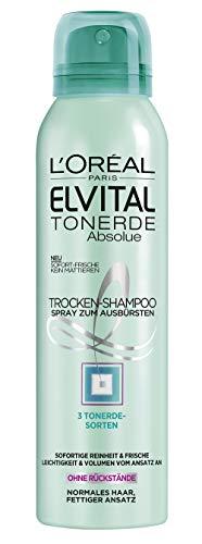 L'Oréal Paris - Shampoo a secco Elvive Argilla Straordinaria, confezione da 2 pezzi (2 x 150 ml)