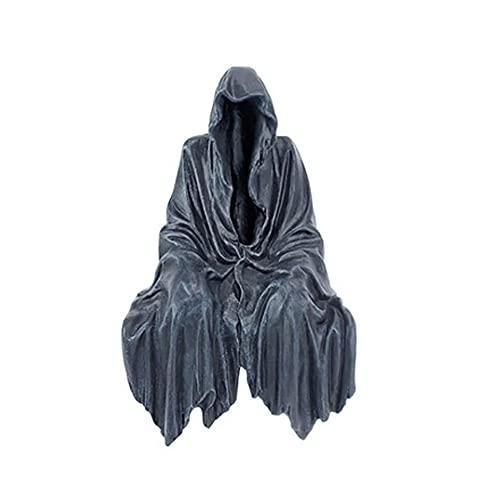 Toys Games Statue de fantôme sans Visage d'halloween, Robe Noire Nightcrawler Décoration Maison Statue de résine Décoration de Bureau pour la décoration de la Maison d'intérieur