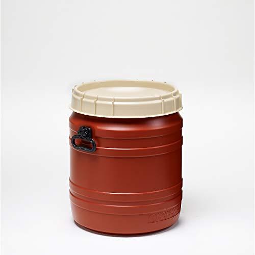 Superweithalsfass 55l - Inhalt 55 Liter - Fass Kunststofffass Rundfass Standfass Weithalstonne Tonne
