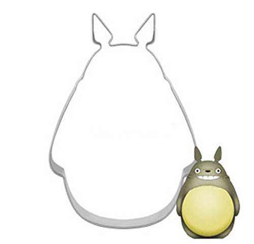 4 Pcs Packed Animal Totoro Stainless Steel Cookie Dessert Fruit Cutter DIY Mould