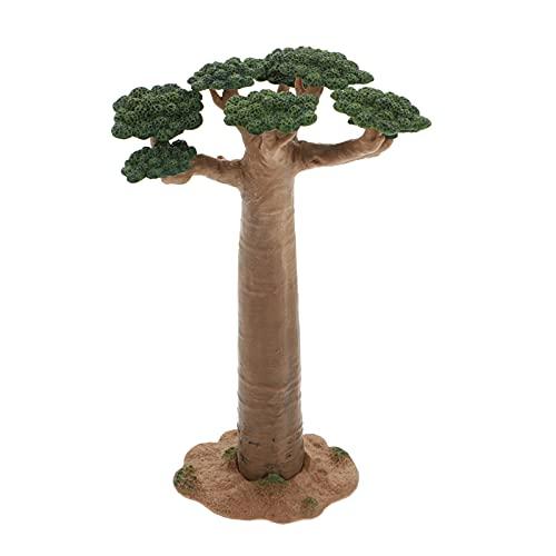 VOSAREA Model Boom Mini Baobab Boom Trein Landschap Architectuur Bomen Nep Bomen Miniatuur Kunstmatige Boom Nep Planten…