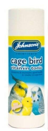 SIPW - NEW IMPROVED Cage Bird Vitamin Tonic Budgies Cockatiels Parrotlets Finches (100ml Bottle)