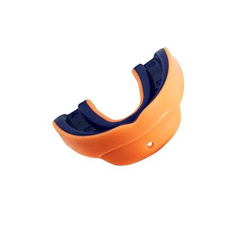 Pro Impact 2strato paradenti–Comes with Storage box–UFC kickboxing–arancione/blu