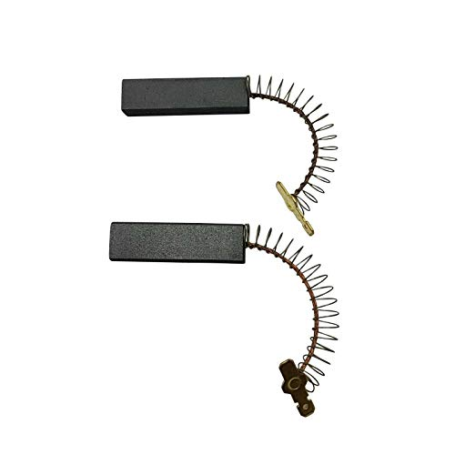 2 x spazzole di carbone 2957 per Bosch, Siemens, Constructa, Neff lavatrice 12,5 x 5 x 36 mm – 154740 – 00154740
