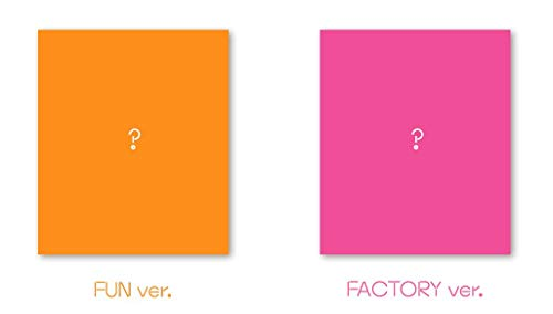 Fun Factory (Random Cover) (Incl. 84pg Photobook, 2 x Photo Cards +Sticker)