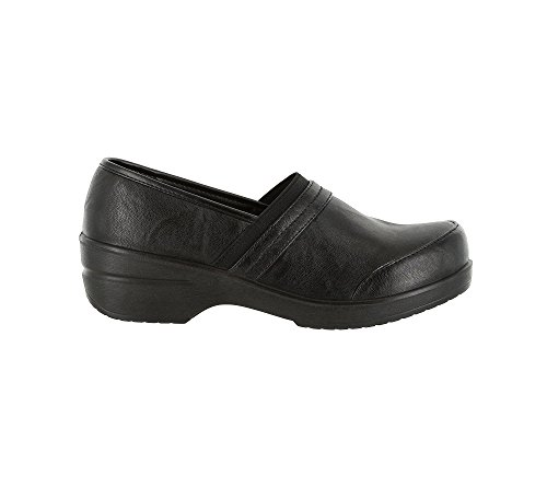 Easy Street womens Origin clogs and mules shoes, Black-matte, 8 US