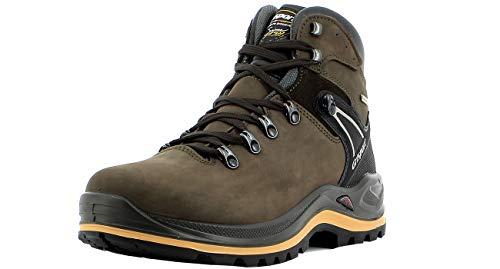 Grisport Unisex Schuhe Herren und Damen aus der Ranger Linie, Trekking- und Wanderstiefel aus hochwertigem Leder, Membrankonstruktion, EU 44,Braun N36G