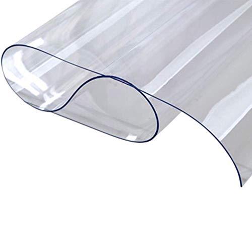 desktop-beschermingsonderlegger voor desktop-pvc-onderlegger, zacht glas, milieuvriendelijk, waterdicht, breukvast, oliebestendig tafelset 1,0 mm 80 * 120cm