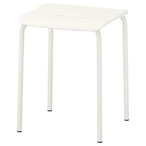 VÄDDÖ IKEA Hocker in weiß; für außen; stapelbar
