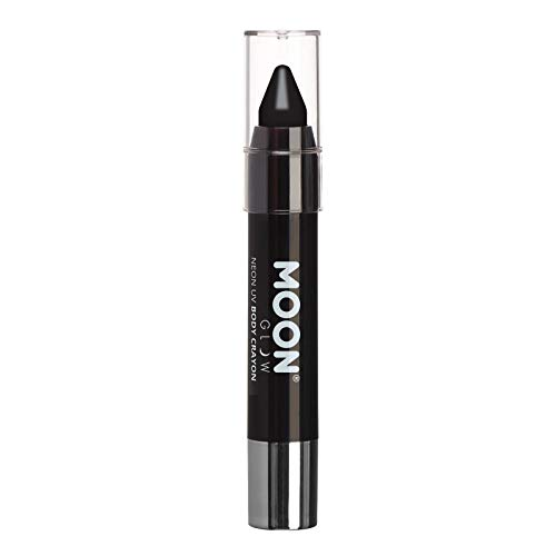 Moon Glow - Neon UV Paint Stick Body Crayon for The Face & Body – Black