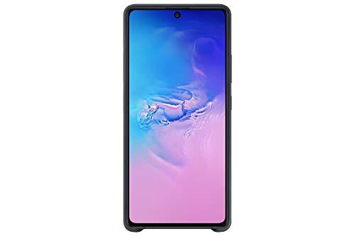 Samsung EF-PG770TBEGEU Cover in silicone per Galaxy S10 Lite (R5) (2020), Nero