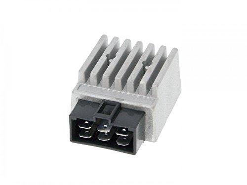 Regler/Gleichrichter mit Blinkrelais für Derbi Senda, GPR, Aprilia RX/SX 50, Gilera RCR