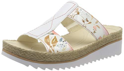 Gabor Shoes Gabor Jollys, Mules Femme, Multicolore (Pastel/Weiss 94), 42 EU