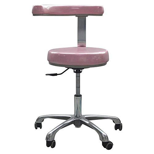 WANGXN medische tandheelkundige stoel tandarts stoel met 360 graden rotatie armsteun PU lederen assistent stoel hoogte verstelbare Doctor stoel