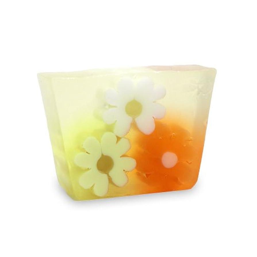 テキスト性的結晶プライモールエレメンツ アロマティック ミニソープ オレンジフラワーショップ 80g 植物性 ナチュラル 石鹸 無添加
