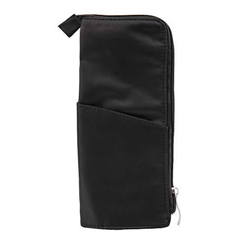 Support de rangement de voyage noir sac de brosse de maquillage portable récipient d'outil cosmétique