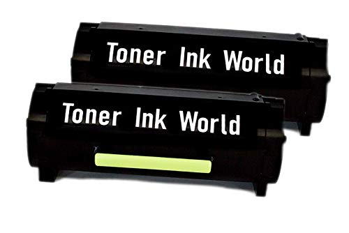 TIW Lexmark 501U, 50F1U00 Replacement Black Toner Cartridge for Lexmark MS610dn, Ms510, MS510dn, Ms610, MS610de, Ms610dn, MS610dtn Printers High Yield 20,000 Pages Printing, Home or Commercial Use.