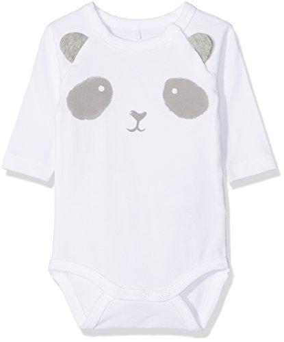 NAME IT Baby-Jungen NBNUNNEGA LS Formender Body, Weiß (Bright White), 62
