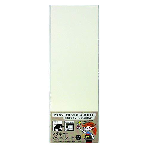 ダイドーハント 磁石が付くシート [片面 粘着] マグネットくっつくシート 10177700 ホワイト 高さ30×幅10cm