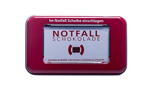 Notfallschokolade in der Dose - Geschenk für sie & ihn - Nikolaus - Adventskalender - Wichtelgeschenk