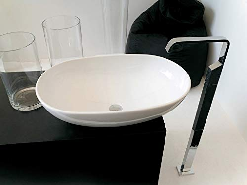 Lavabo Lavabo appui Design moderne la Bol en céramique blanche