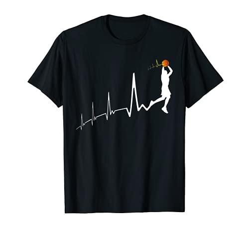 Pallacanestro Battito cardiaco | Motivo Basket Maglietta