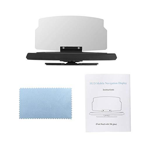BianchiPatricia Car HUD GPS Navigation Display Projector Mobile Phone Mount Bracket Holder