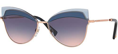 Valentino gafa de sol mujer VA2030 Rose gold 3004l6 gradient blue pink metal