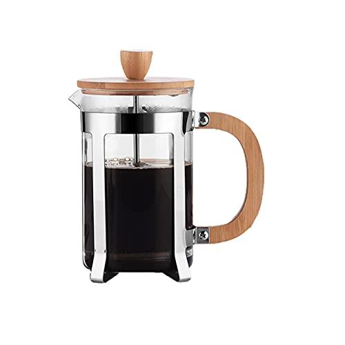 QKFON Presse Kaffeemaschine,...