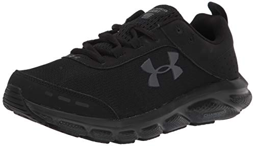 Under Armour Charged Assert 8, Zapatillas para Correr Hombre, Negro 003 Blanco, 42 EU