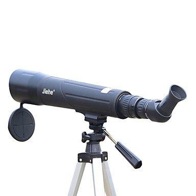 WYFC 25-75x 60 mm Monoculaire / Télescope Multi-traitées Observation d'Oiseaux / Espace/Astronomie Noir
