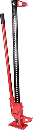 KS Tools 460.5705 Schwerlast-Wagenheber/Zahnstangen- heber mit Langhebelratsche, mehrfarbig