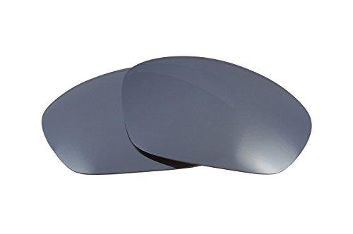 SEEK Ersatzgläser Kompatibel mit OAKLEY Straight Jacket Silber Spiegel