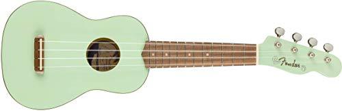 Fender Venice - Ukelele soprano, color verde