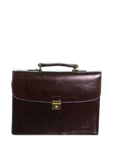 Gerard Henon 52054 - Toalla de piel (38 x 28 x 12,5 cm), color marrón