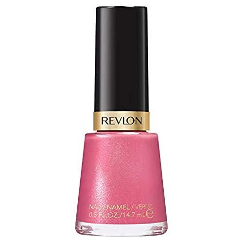 Revlon Nail Enamel, Chip Resistant Nail Polish, Glossy Shine Finish, in Plum/Berry, 151 Iced Mauve, 0.5 oz