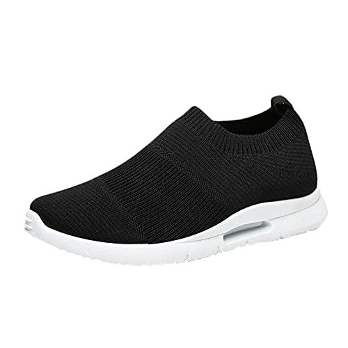 Zapatillas deportivas para hombre de malla para correr, para caminar, gimnasio, correr, multicolor, 41 1/3 EU