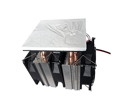 YEZIO DIY Kit, 12V Electronic Semiconductor Refrigeration System, 12V Thermoelectric Cooler, Small Refrigerator Refrigeration