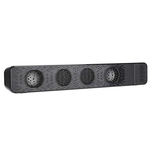 YLSZZTT Altavoz Inalámbrico Bluetooth Subwoofer Barra De Altavoces Estéreo De Canal De Sonido Dual para Computadora Portátil De Escritorio Teléfono Móvil