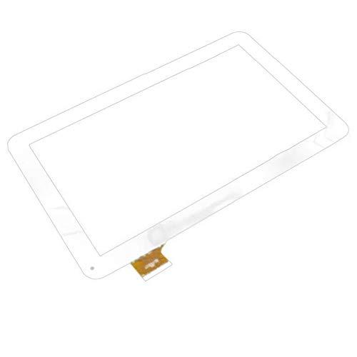 10.1 Pulgadas Ajuste para SPC Glee 10.1 3G Tableta Pantalla táctil Panel táctil Digitalizador de reemplazo de Sensor de Vidrio (Solo Pantalla táctil) (Color : White)