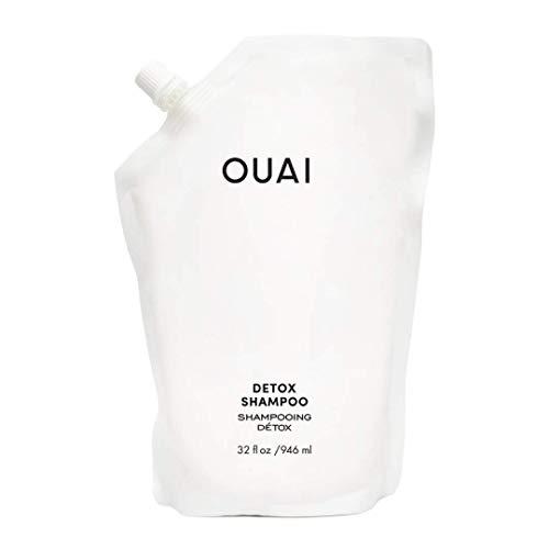 OUAI Detox Shampoo Refill Pouch. Clarifying Cleanse for...