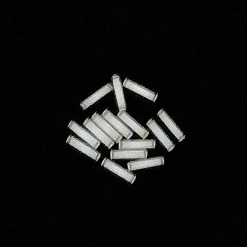 Ti3H-EDC 1pcs 3x11mm Trit Vials Tritium Multicolor Self-Luminous 15-Years - Flashlight Tritium Gadgets (white)