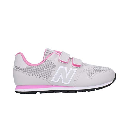 New Balance IV500RI, Running Shoe Baby-Girls, Negro/Team Royal, 27.5 EU