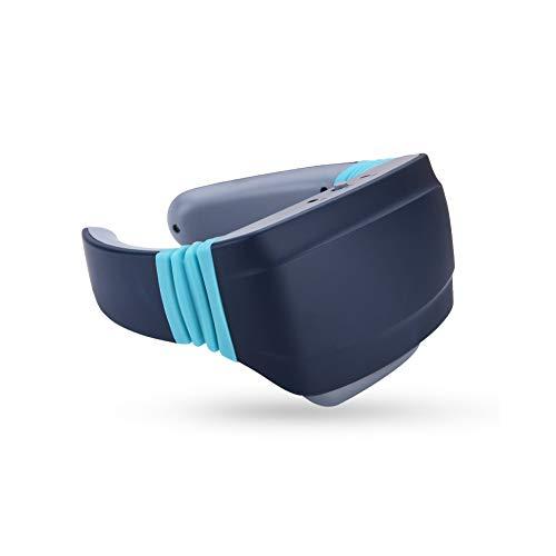 Intelligent massageapparaat voor nek, massageapparaat, halswervels, verwarming, kneden, acupunctuur, onderhoud, elektrisch massageapparaat, wit