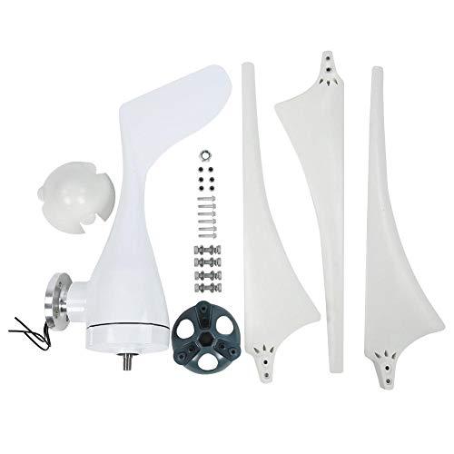 Kit de generador de turbina eólica, NE-300S Generador de turbina eólica 300W 3PCS 630mm Nylon Fiber Wind Blades Power Windmill(24V)